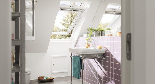 Velux Dachfenster Schone Ideen Fur Verschiedene Raume Dachfenster Badezimmer Dachschrage Und Innenarchitektur