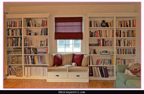 Nice modern kitaplık modelleri 2016 dekorasyon stil pinterest
