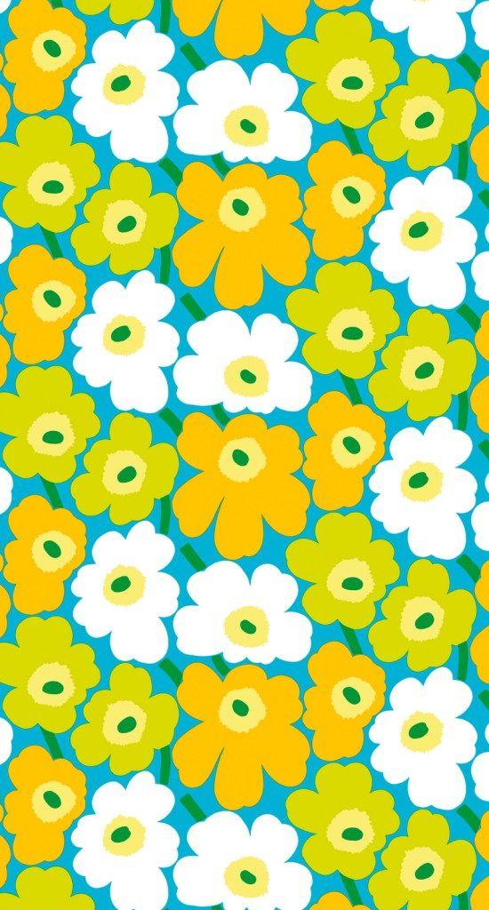 Marimekko Unikko iPhone Wallpaper | Marimekko | Pinterest ...