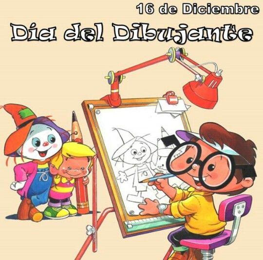 16 De Diciembre Dia Del Dibujante