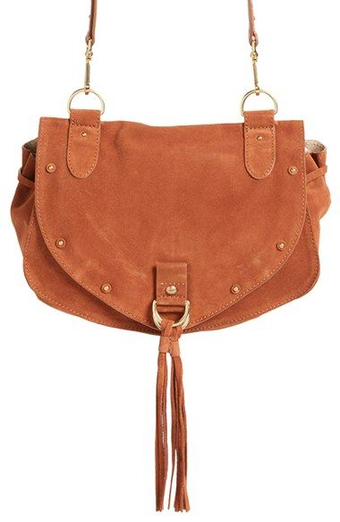109e5034934d See by Chloé  Medium Collins  Leather   Suede Messenger Bag ...