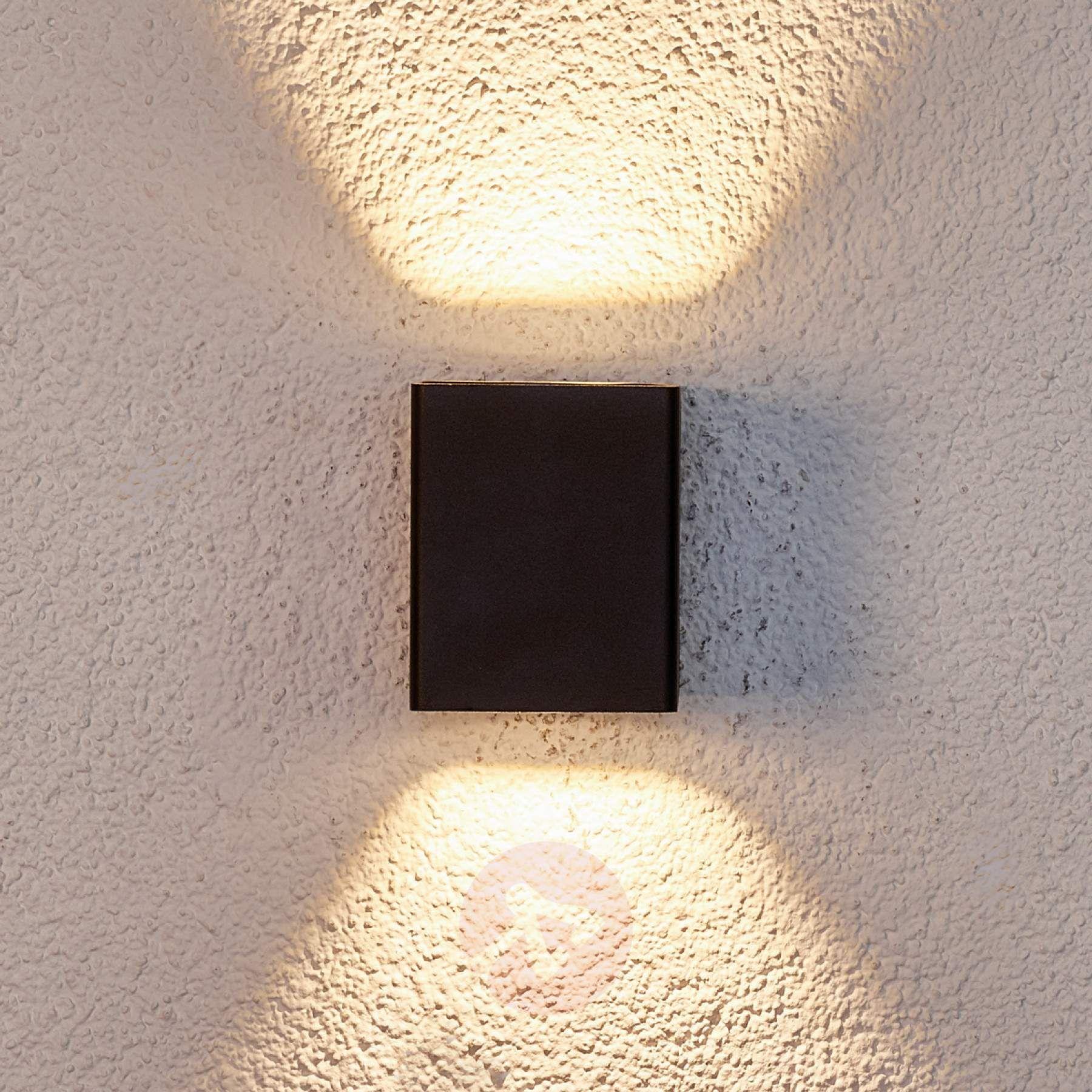 Applique Extérieure Eclairage Haut Et Bas lukas - applique ext. led avc filtre décoratifs de