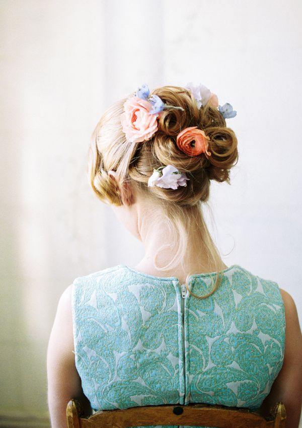 Cabelo florido | Hair flower