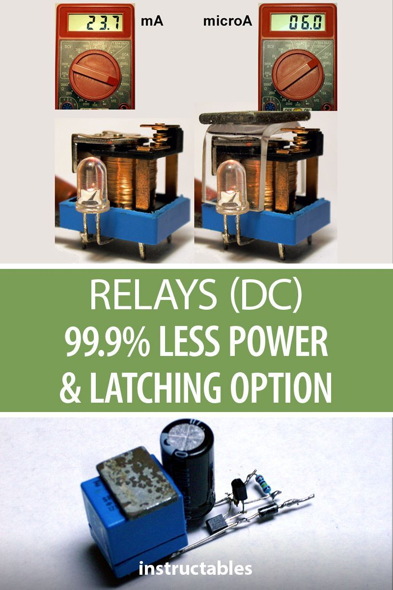 Relays Dc 999 Less Power Latching Option Electronics Relay Are You Looking For A Better Way To Discuss And Analog Components With Your Students Check Out This Demo Stemeducation
