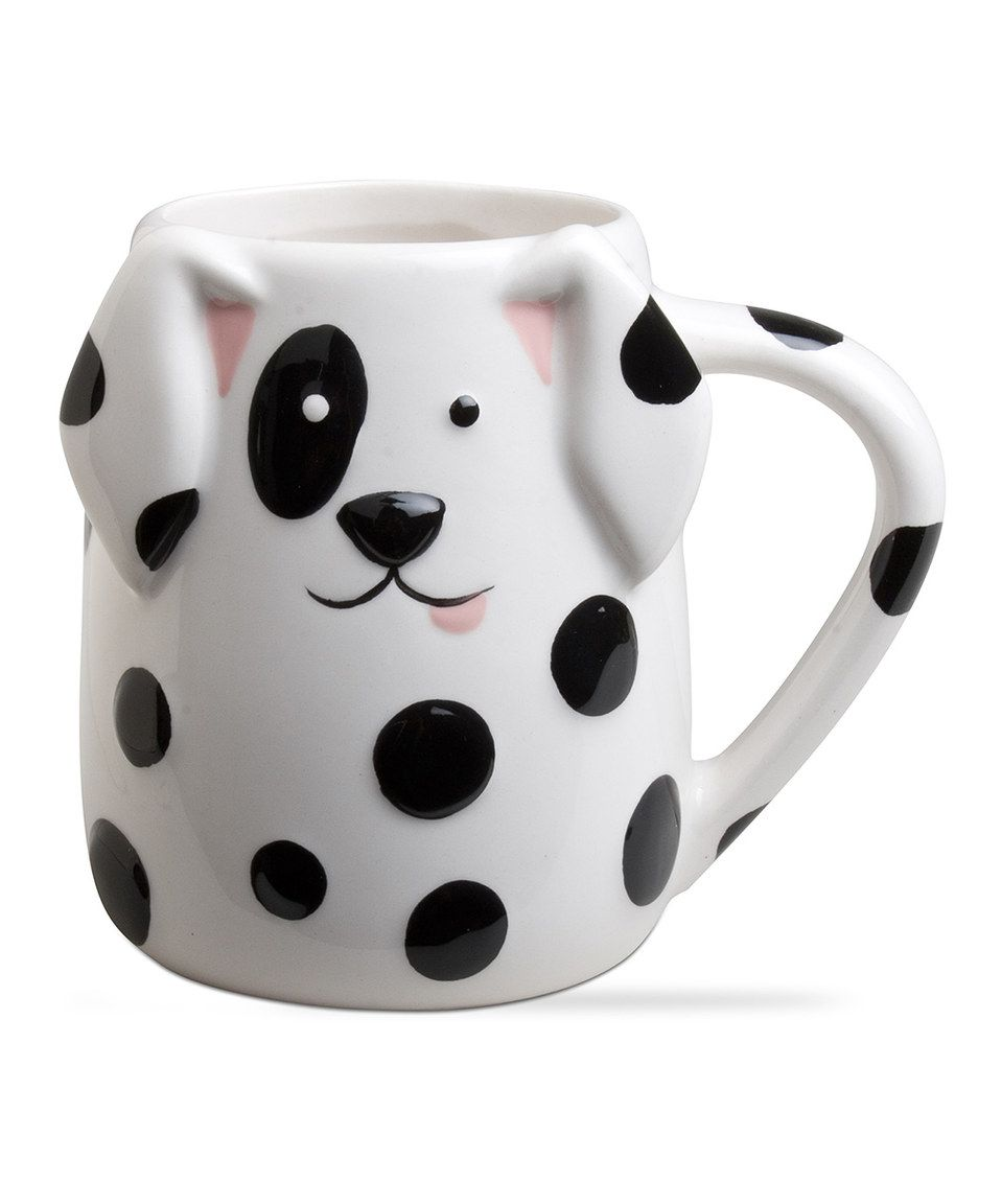 Animal Coffee Cups Spotted Dog Mug By Tag Zulily Zulilyfinds Meaningful Mugs In