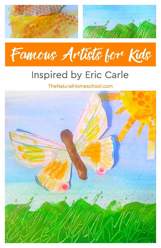 Photo of Famous Artists for Kids ~ Lessons Inspired by Eric Carle – The Natural Homeschool Shop