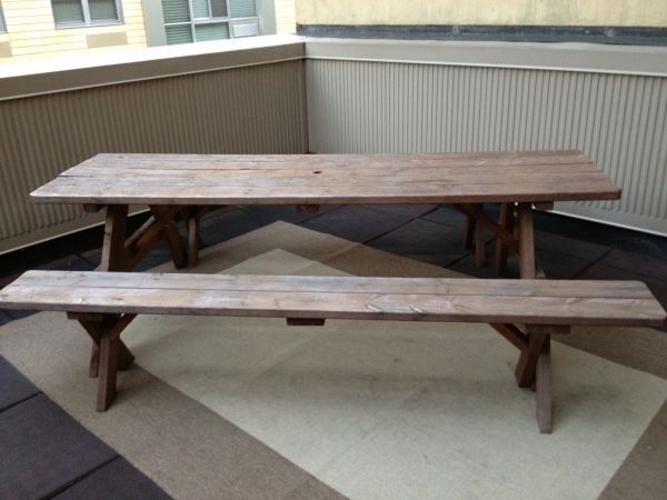 Wondrous Picnic Table Benches Craigslist Vhx Office Picnic Alphanode Cool Chair Designs And Ideas Alphanodeonline