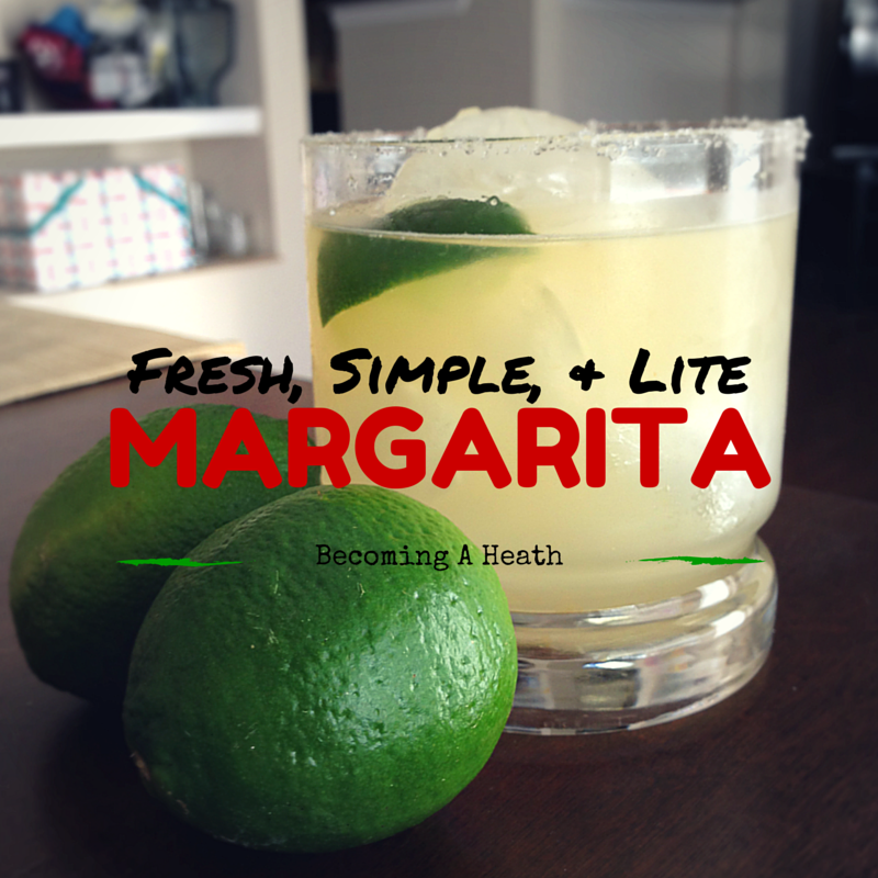 Perfect Homemade Margarita Recipe On The Rocks Involving