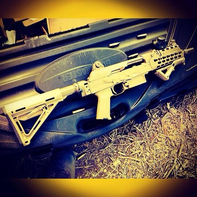 9 More Crazy Weapons: Definitive Arms AK SBR AK Style 556 @Hank Strange