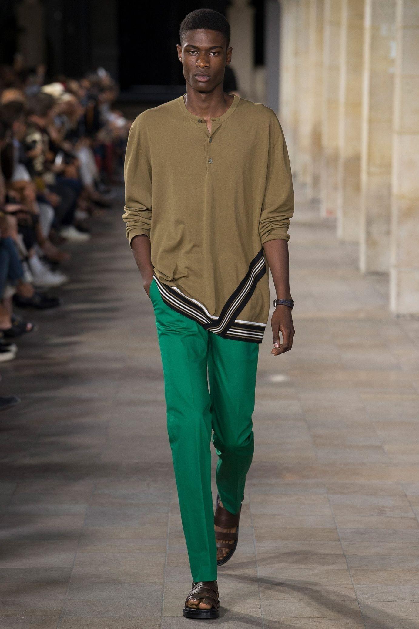 Défilé Hermès Printempsété 2018 36 Mode homme été, Mode