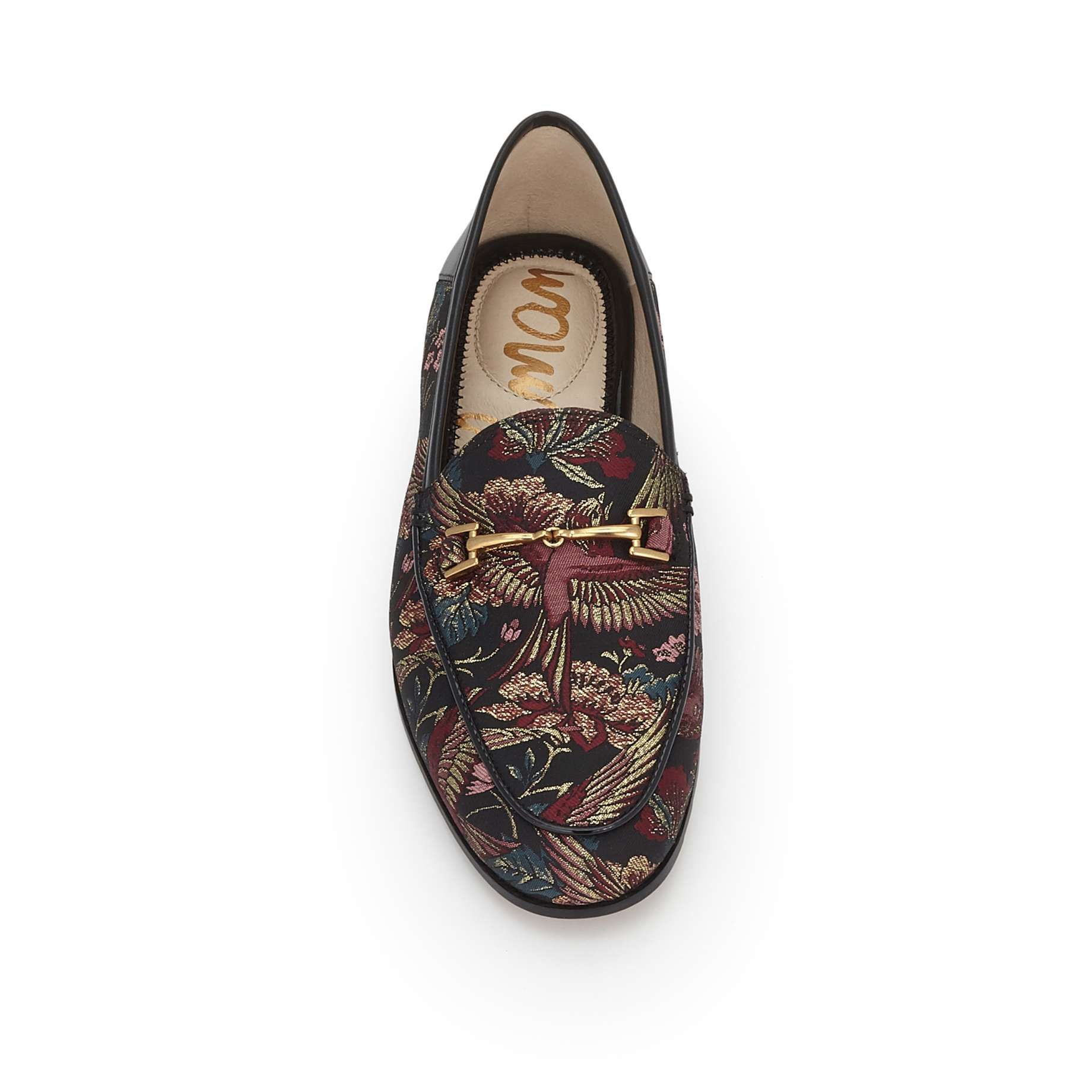 Sam Edelman Loraine Black Bird Print