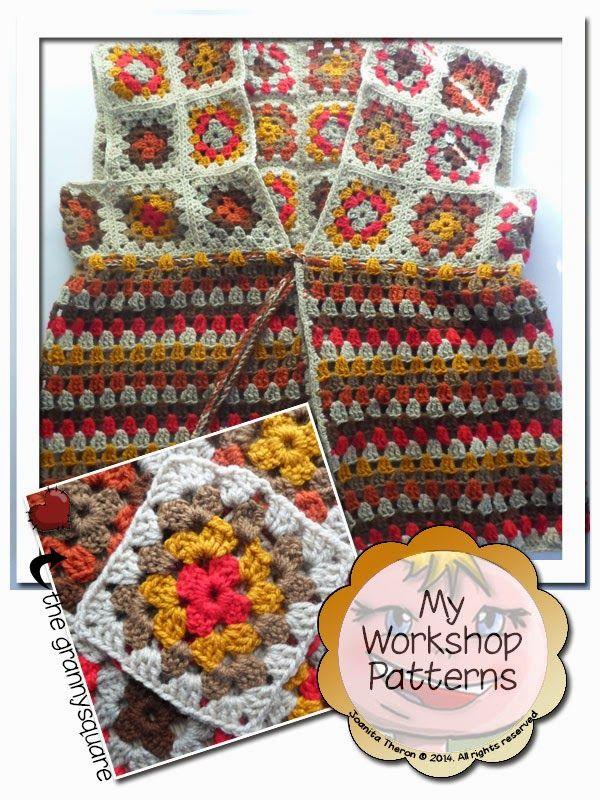 Creative Crochet Workshop: Granny Waistcoat | crochet | Pinterest