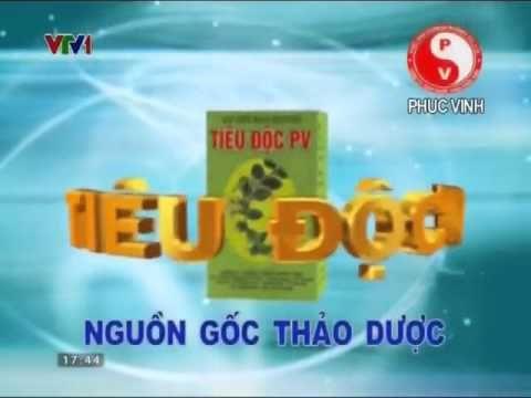 Quảng Cáo Trên Tivi -Quảng cáo Tiêu độc PV - Thanh nhiệt Giải độc