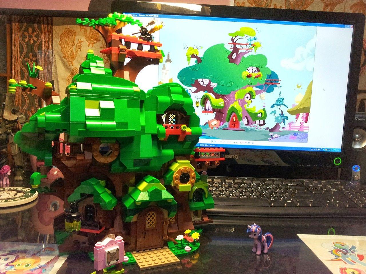 Twilight S Tree House In Lego