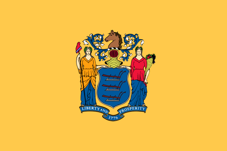 File Flag Of New Jersey Svg Wikipedia The Free Encyclopedia Jersey Flag New Jersey State Flags