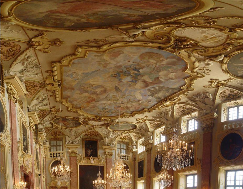Castle Rastatt, Germany.