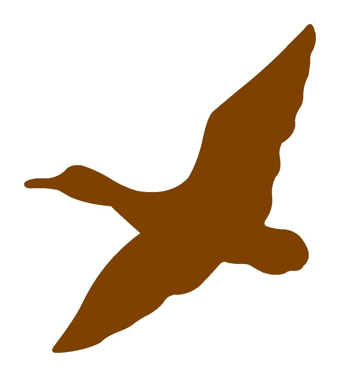 Duck Flying Svg