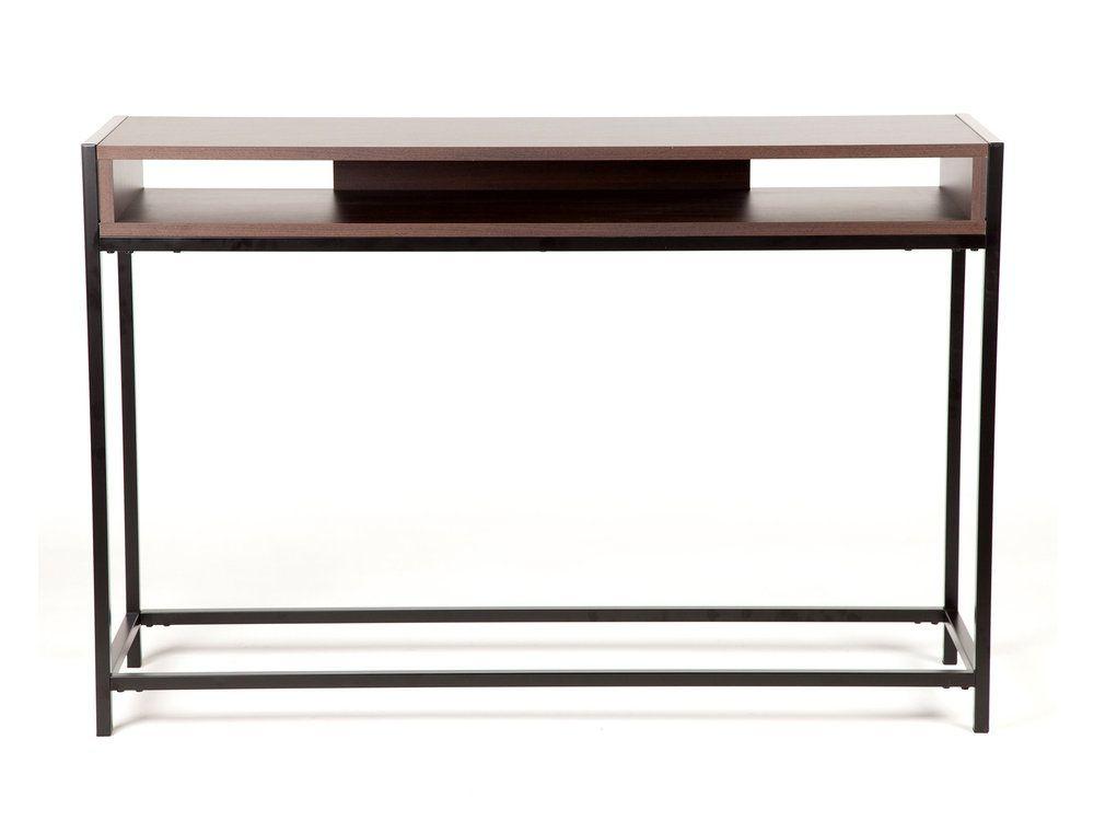 Console en métal et bois 1 niche Longueur 122 cm ROCK Consoles