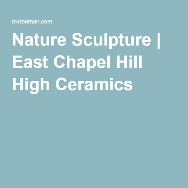 Nature Sculpture   East Chapel Hill High Ceramics