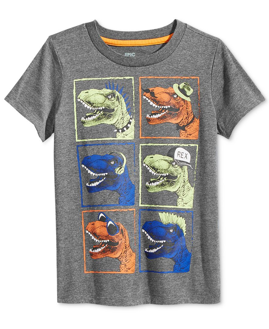 4e809a1d36bf Epic Threads Graphic-Print T-Shirt, Toddler & Little Boys (2T-7), Only at  Macy's