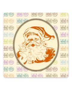 Retro Santa - Custom Envelope Seals