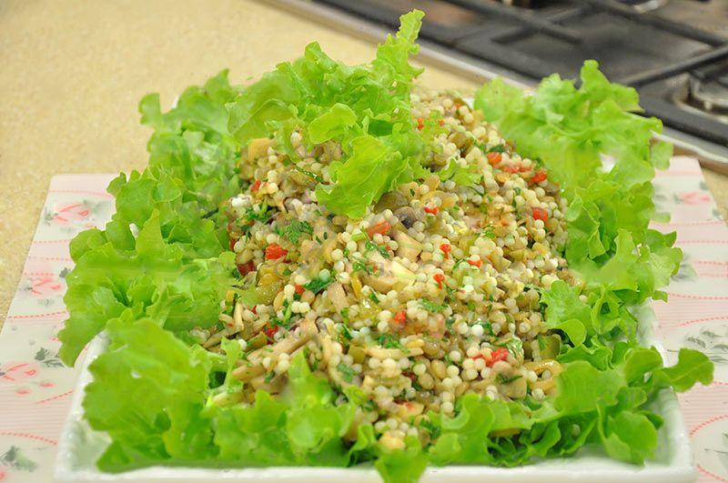 Mercimekli Kuskus Salatası Tarifi