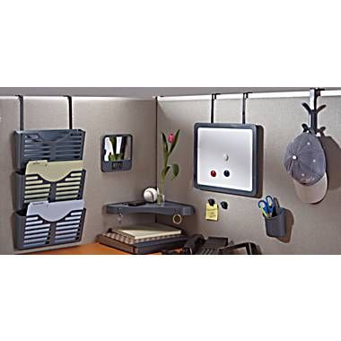 Dps By Staples Verti Go Cubicle Accessories Cube Clips Office