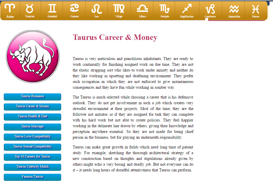 Know about #Taurus #Romance Taurus #Career & #Money Taurus