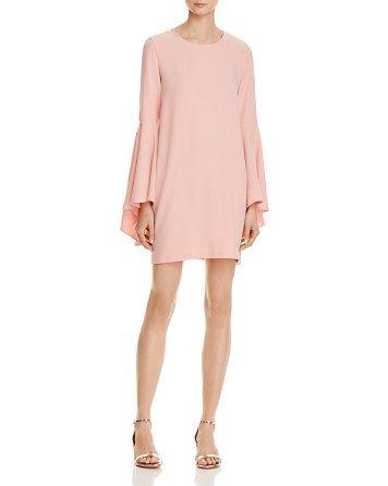 6e0c9d59d AQUA Bell Sleeve A-Line Dress - 100% Exclusive - Bloomingdale's ...