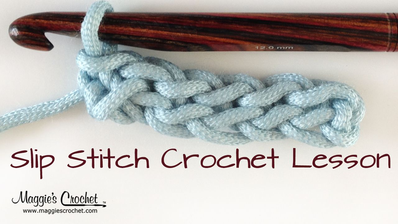 How To Slip Stitch One of the most basic and useful crochet stitches ...