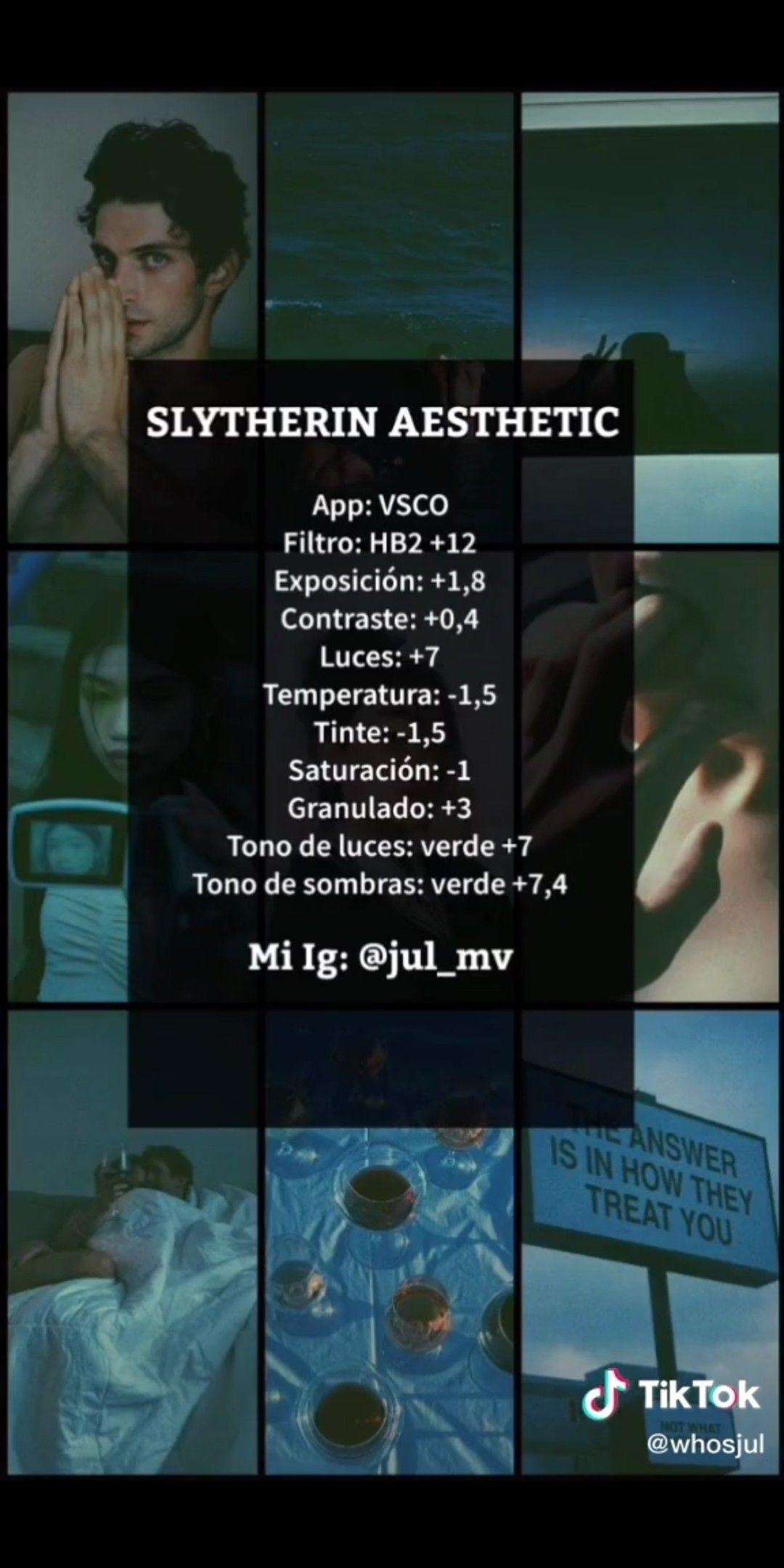Slytherin Filter Vsco Filter Instagram Best Vsco Filters Vsco Filter