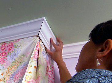 DIY - Bed Crown Canopy - Design Dazzle & DIY - Bed Crown Canopy | Bed crown canopy Bed crown and Canopy