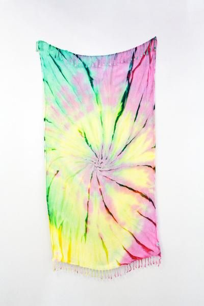 Turkish cotton towels Gabriola Towel - Tye Dye - Turkish Towel Store