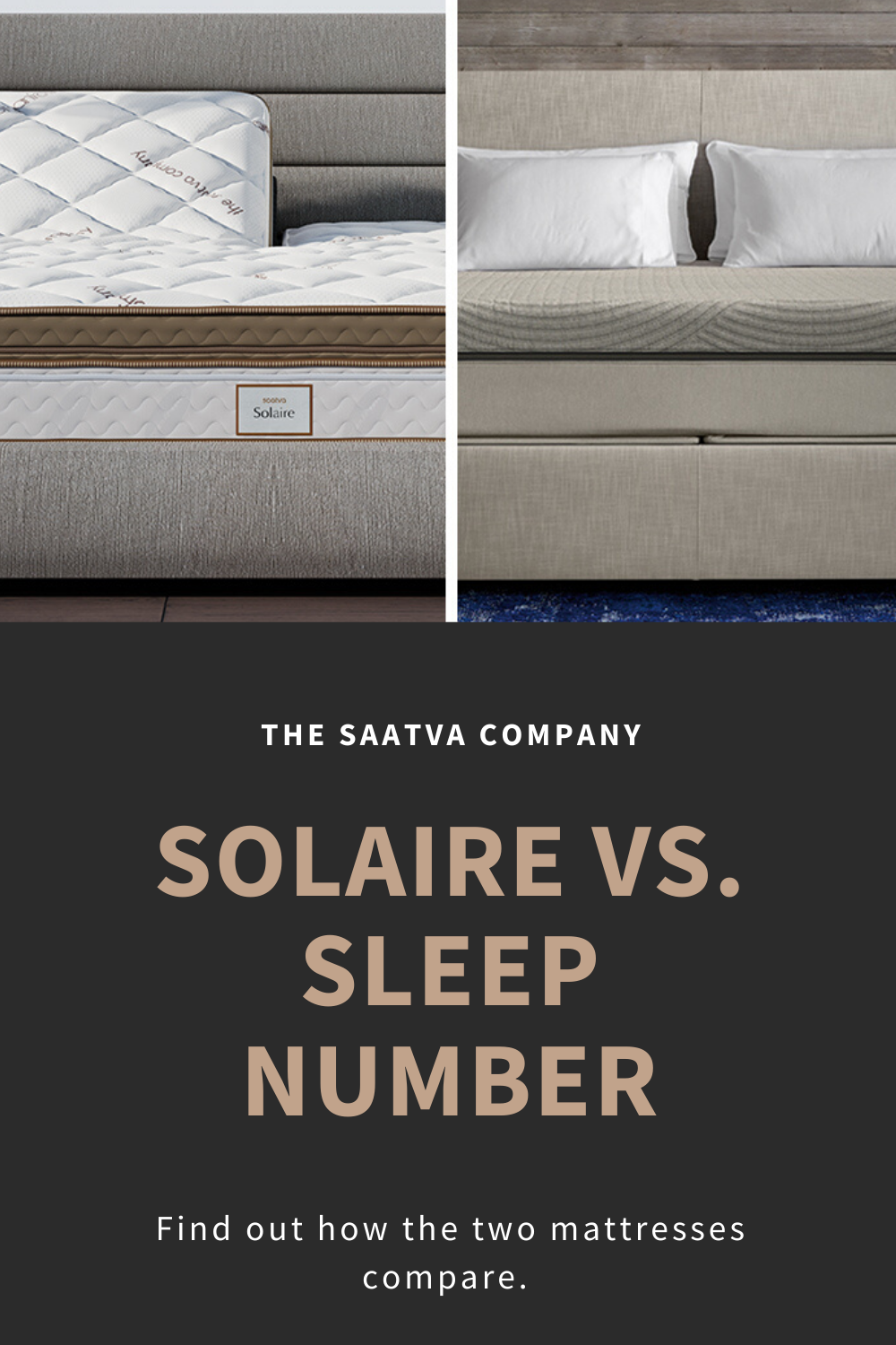 Solaire Vs Sleep Number Everything You Need To Know Saatva Mattress Comparison Air Bed Sleep Number Bed