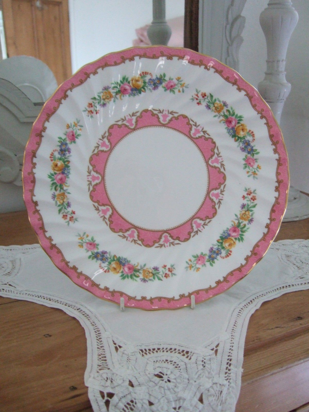 Cake Plates/Stands Crown Staffordshire Porcelain u0026 China | eBay & Pin by Erin Kenney-Pascarella on Vintage Treasures | Pinterest ...