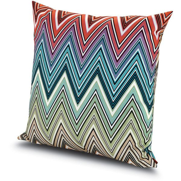 Missoni Home Kew Outdoor Cushion 100 60x60cm 2 310 Sek Liked On Polyvore Featuring Home Outdoors Outdoor Decor Pillows Outdoor Cushions Pillows Outdoor Cushions Pillows