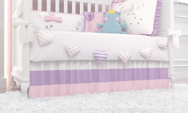 f1e5be6089 Apaixone-se pelos detalhes do Quarto de Bebê Floral Monet