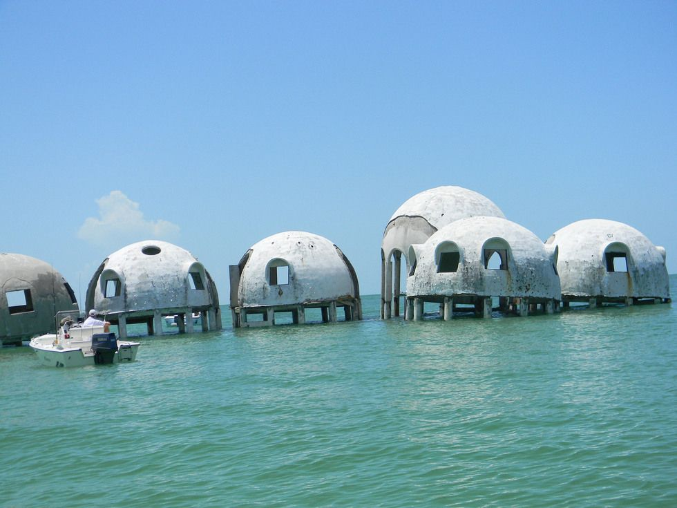 CAPE ROMANO DOME HOUSE MARCO ISLAND FLORIDA