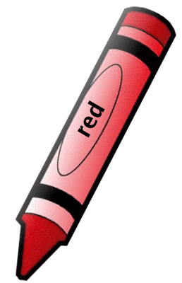 crayon red 1 red pinterest red  red crayon and art supplies clipart black white art supplies clip art black and white