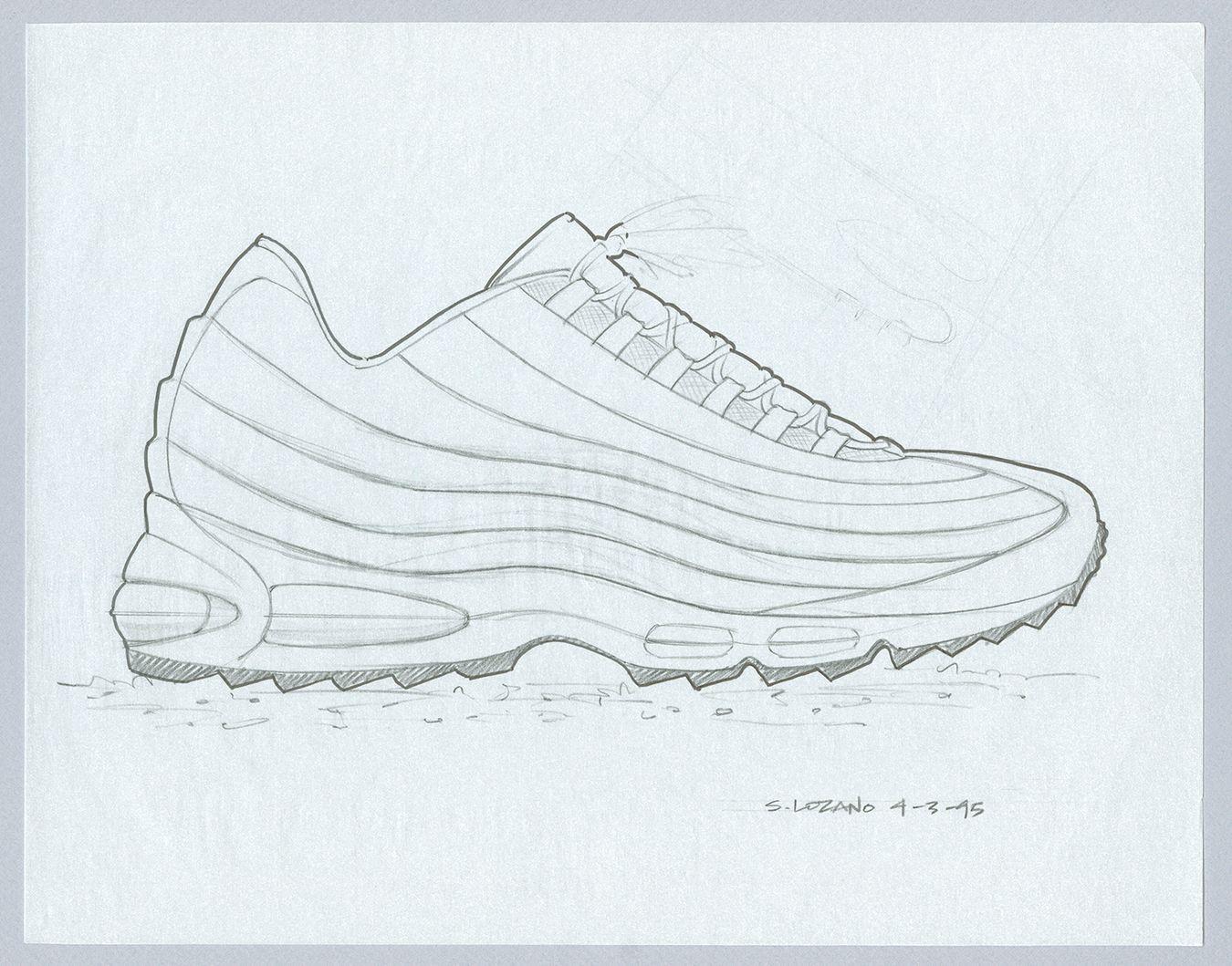 Anatomie Von Nike Air 20 Jahre Air Max 95 Airmax
