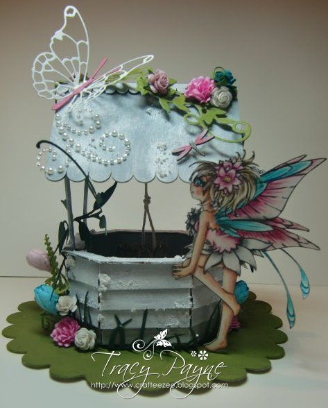 Fairy Wishes by Crafteezee - Cards and Paper Crafts at Splitcoaststampers