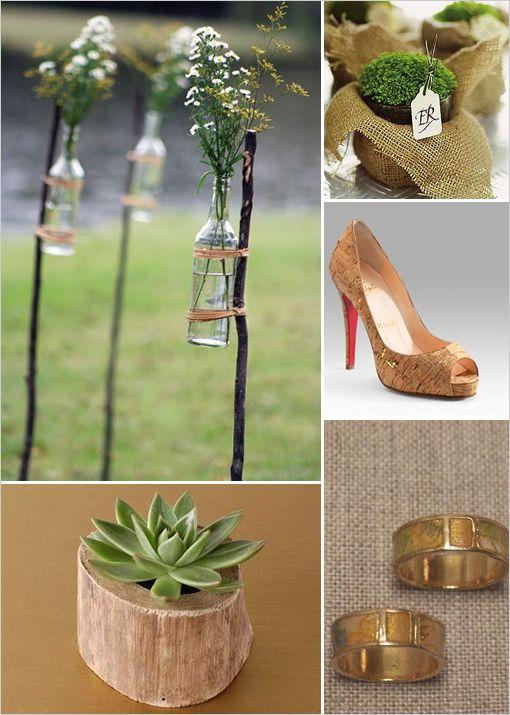 Stylish Eco Friendly Wedding Ideas | Green Ideas