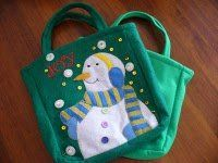 Personalized Christmas Gift Tote
