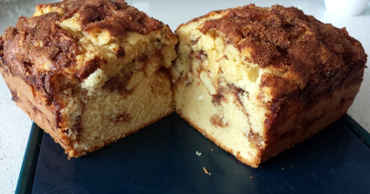 Great recipe for Devine Apple Cinnamon Loaf. Recipe from all recipes.com, I had to share it!
