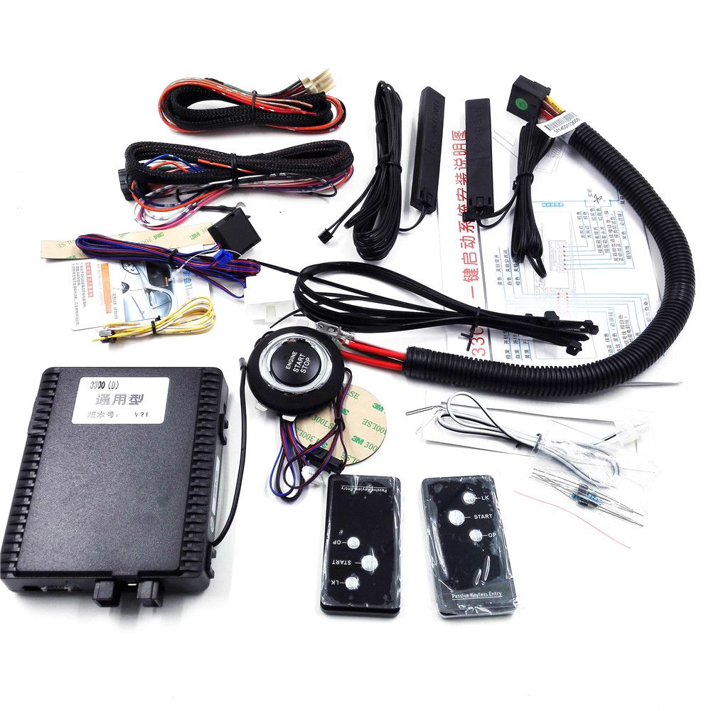 Smart key Keyless Entry System with Engine Start/Stop-PKE-Passive ...