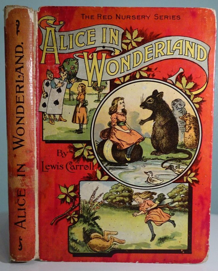 Book Alice In Wonderland