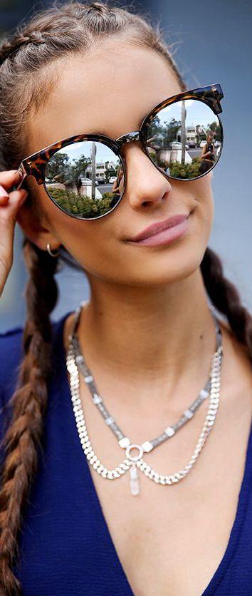 110eeb5a9a Pared blanca Gafas De Sol Redondas, Anteojos De Sol, Ojos De Gato, Tipos