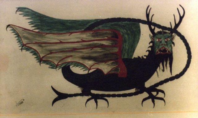 Native American Dragon