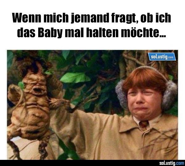 Wenn mich jemand fragt ob ich das Baby mal halten möchte - #baby #eltern #frage #halten