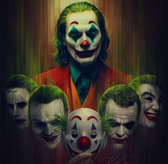 Artwork female joker wallpaper